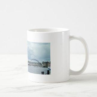 River Newcastle Tyne Basic White Mug