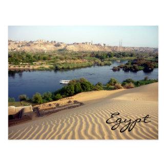 river nile dunes postcard