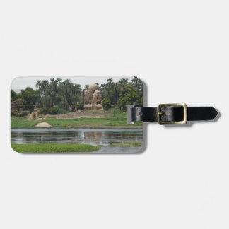 River Nile Scene Luggage Tag