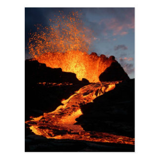 River Of Fire Postcard
