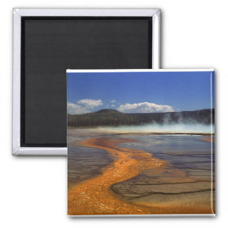 River of Fire Square Magnet