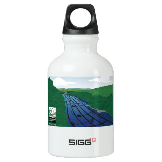 River of Music Water Bottle