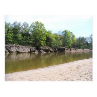 River(Oklahoma) Postcard