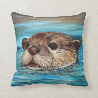 River Otter Cushion