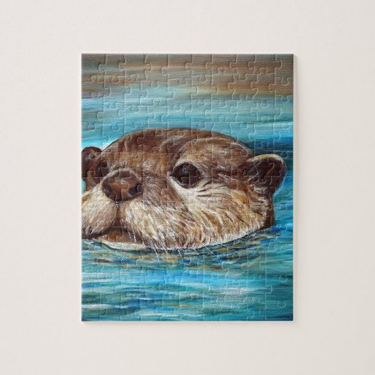 River Otter Jigsaw Puzzle