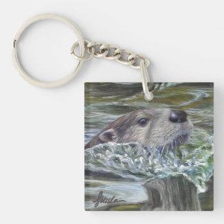 River Otter Key Chain