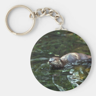 River Otter Key Ring