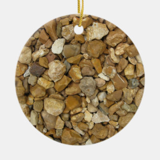 River Pebbles Christmas Ornament