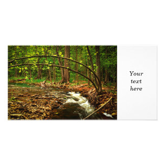 River Photo Card Template