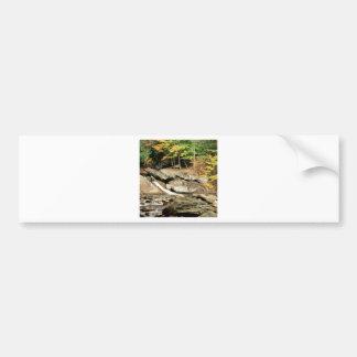 River Pikes Falls Windham County Vermont Bumper Sticker