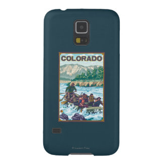 River RaftingColorado Galaxy S5 Cases