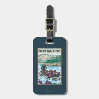 River RaftingNew Mexico Luggage Tag
