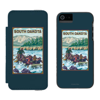 River RaftingSouth Dakota Incipio Watson™ iPhone 5 Wallet Case