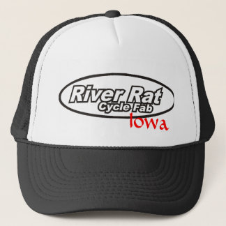 River Rat Cycle Fab Iowa Trucker Hat