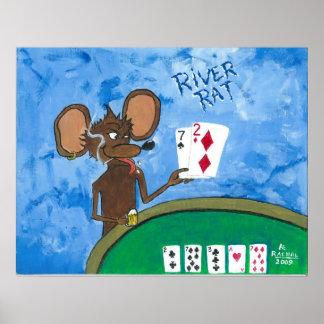 River Rat Posters