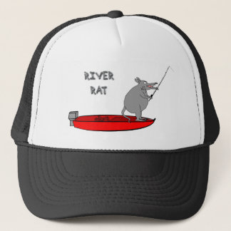 river rat trucker hat