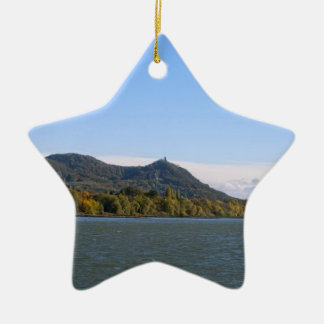 River Rhein Ceramic Star Decoration