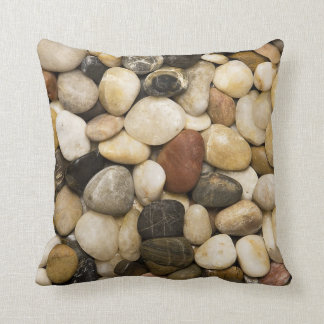 River Rock Stone Background - Customized Template Cushion