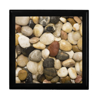 River Rock Stone Background - Customized Template Gift Box