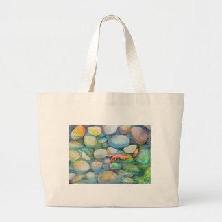 River rocks and salamander bags