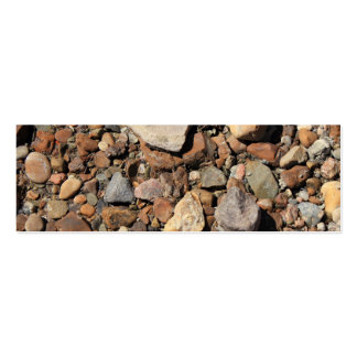 River Rocks Pack Of Skinny Business Cards