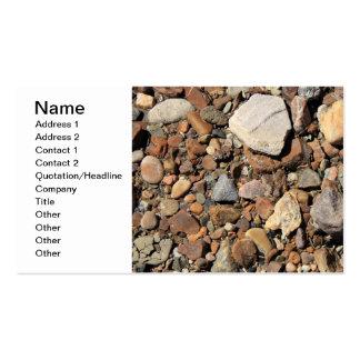 River Rocks Pack Of Standard Business Cards