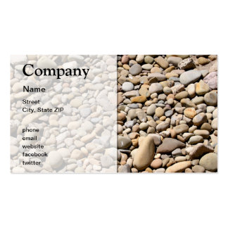 River Rocks Pebbles Pack Of Standard Business Cards