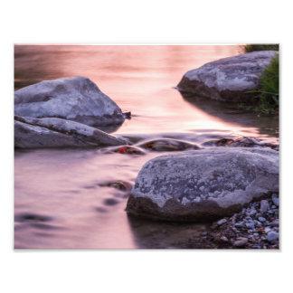 River Rocks Photo Print