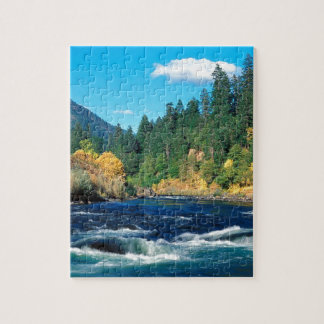River Rogue Siskiyou Forest Oregon Jigsaw Puzzle