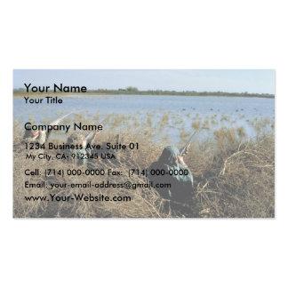 River Scene Business Card