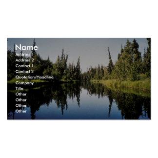 River Scene Business Card Template