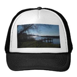 River Scene Trucker Hats
