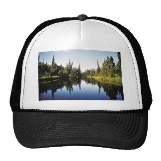 River Scene Hats