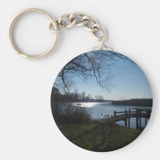 River Scene Key Chains