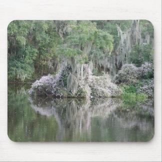 River Scene Mouse Pad