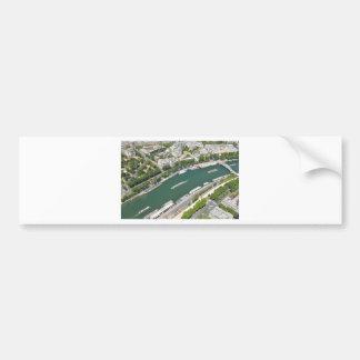 River Seine Bumper Sticker