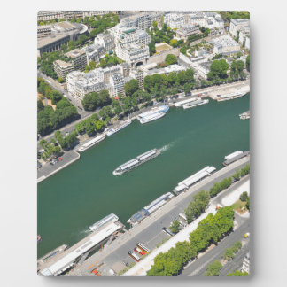 River Seine Display Plaques