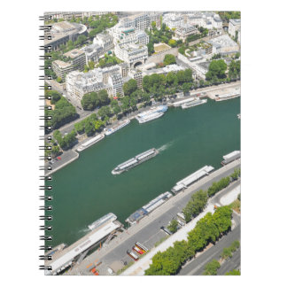 River Seine Notebook