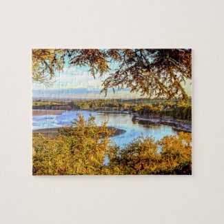 River Severn Jigsaw Puzzle