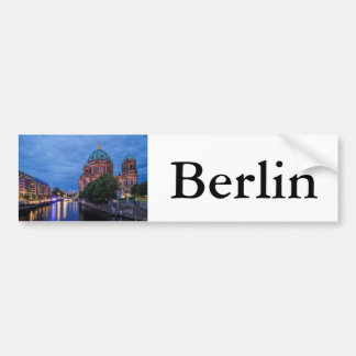 River Spree and Cathedral in Berlin Bumper Sticker