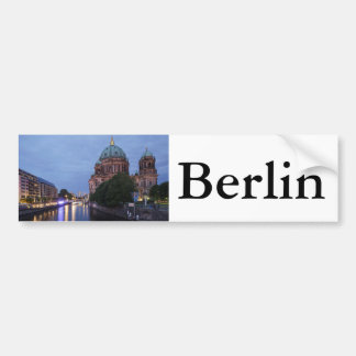 River Spree and Cathedral in Berlin, Germany Bumper Sticker