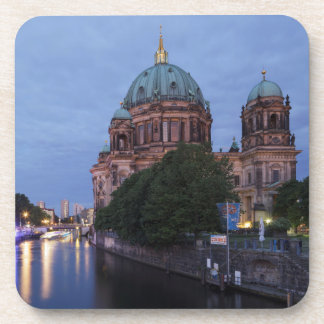 River Spree and Cathedral in Berlin, Germany Coaster
