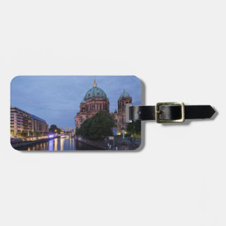 River Spree and Cathedral in Berlin, Germany Luggage Tag