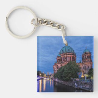 River Spree and Cathedral in Berlin Key Ring