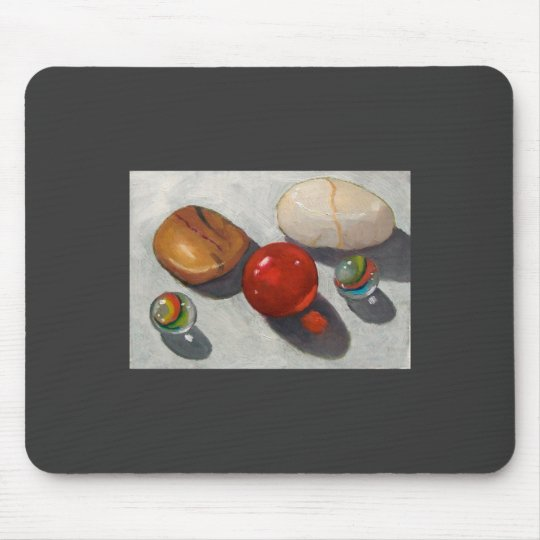 RIVER STONES AND MARBLES MOUSEPAD