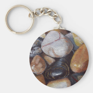 RIVER STONES ARTWORK KEY RING