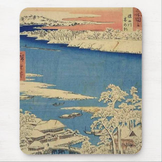 River Sumida Musashi Mousemat