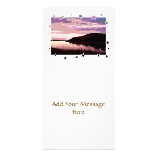 RIVER SUNSET PHOTO CARDS