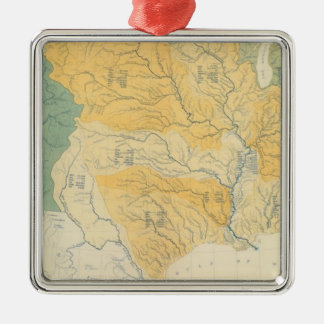 River Systems in the US Christmas Ornament