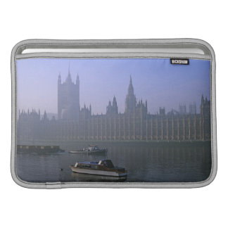 River Thames and Houses Sleeve For MacBook Air